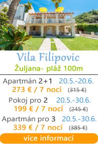 Vila Filipovic - Žuljana