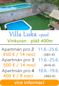 Villa Luka s bazénem - Pula