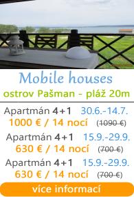 Mobilní domky - ostrov Paaman