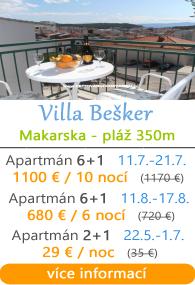 Villa Beaker Makarska