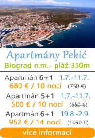 Apartmán Pekić - Biograd na moru